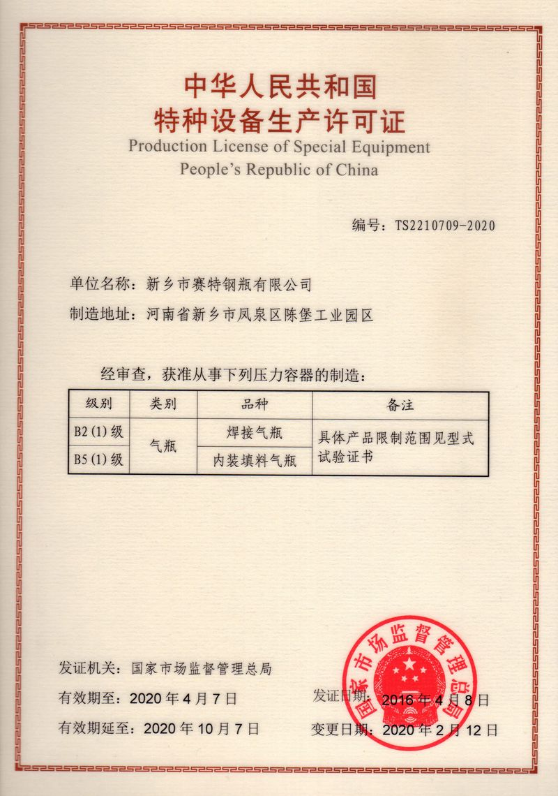 2020制造许可证